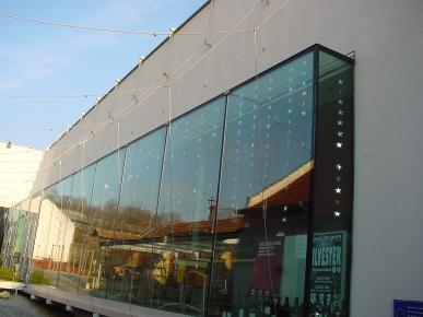 A Glass Glazing